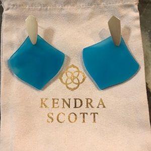 Kendra Scott Blue Astoria Earrings
